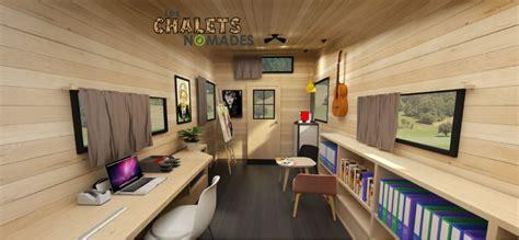 modele de tiny house latelier le bureau les chalets