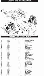 Generac Pressure Washer Model 1124