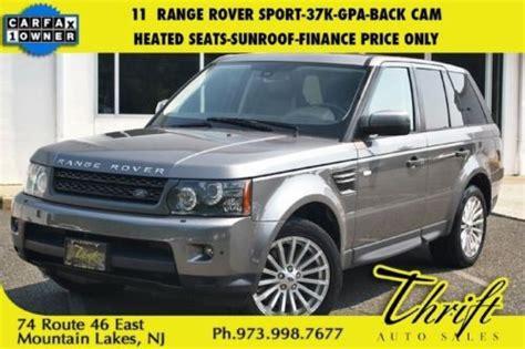 Buy Used 11 Range Rover Sport-37k-gpa-back Cam-heated