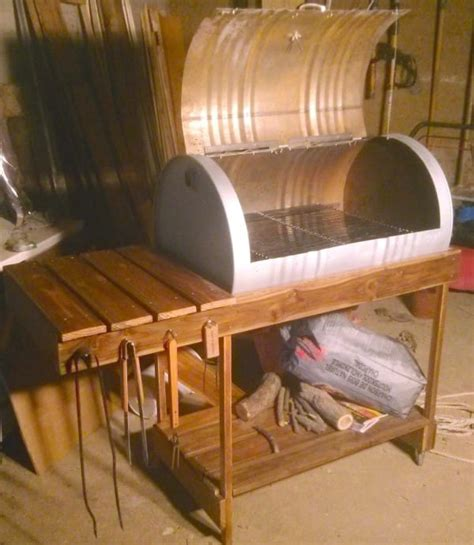 55 gallon drum furniture barrel grill diy project littlethings