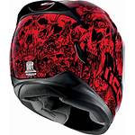 Helmet Motorcycle Icon Airmada Parahuman Helmets Face