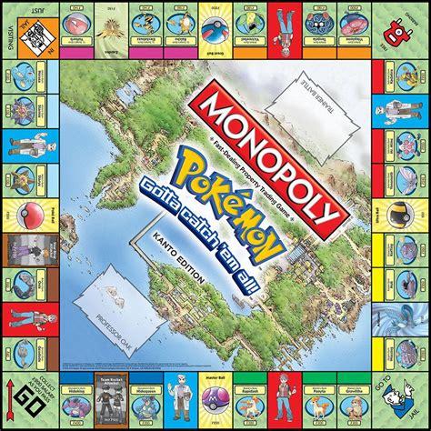 Monopoly Pokemon Kanto Edition Game Toys