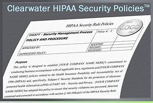 clearwater hipaa security policies procedures toolkit With hipaa hitech policy templates