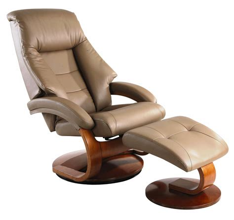 oslo sand top grain leather swivel recliner from mac