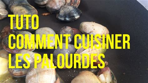 cuisiner palourdes tuto comment cuisiner les palourdes