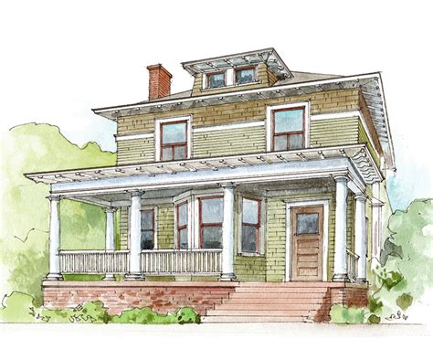 House Styles: American Foursquare Design for the Arts
