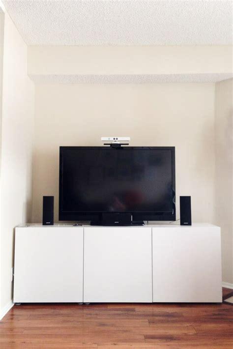 meuble de tele ikea meuble besta ikea rangement modulable en 25 id 233 es top
