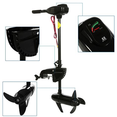 Electric Boat Motor With Battery by Outboard Engine Boat Motor Electric Saltwater Freshwater