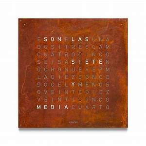 Uhr Mit Worten : qlocktwo qlocktwo large ~ A.2002-acura-tl-radio.info Haus und Dekorationen
