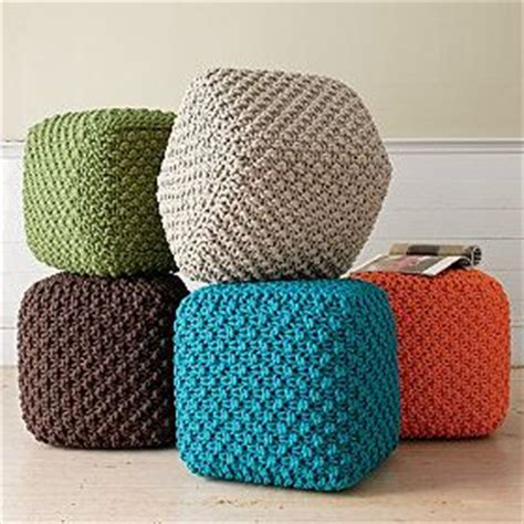 crochet pouf ottoman pattern free 25 best ideas about knitted pouf on knitted pouffe floor pillows and poufs and poufs