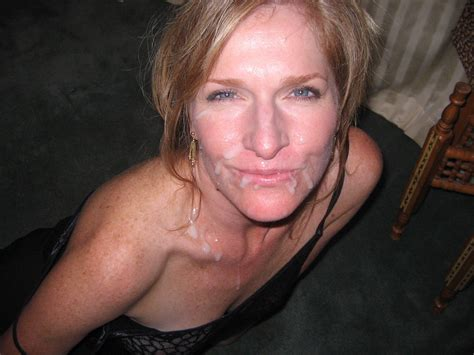 Cum Facial  In Gallery Milf Wife Facials 2 Picture 2 Uploaded By Milfwifey On