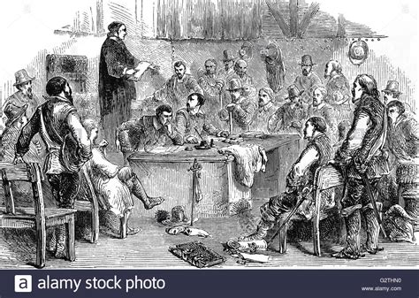 Meeting of the Virginia House of Burgesses, the first ...