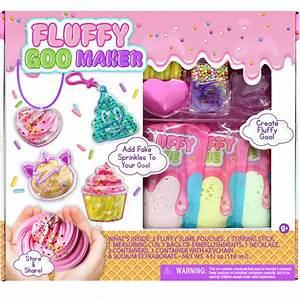 Fluffy Slime Maker Kit - Walmart Com