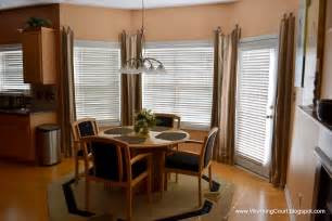 dining room window treatment ideas bay window treatment solution worthing court