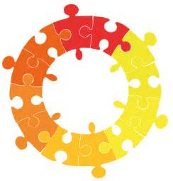 Circle Puzzle Piece Clip Art
