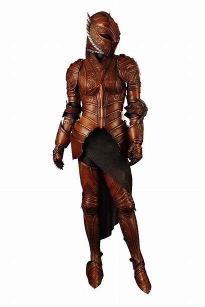 Female Armor Leather Phoenix Knight Fantasy Medieval