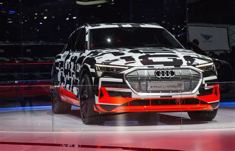 Audi Etron Prototype Makes Geneva Auto Show Appearance