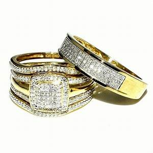 get most brilliant 3 piece wedding ring sets for With 3 piece wedding ring sets cheap