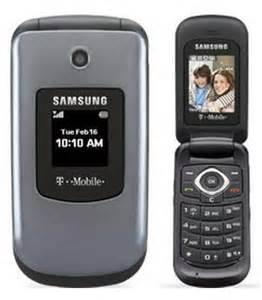 T-Mobile T139 Samsung Flip Cell Phones