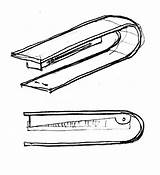 Stapler Drawing Clipartmag sketch template