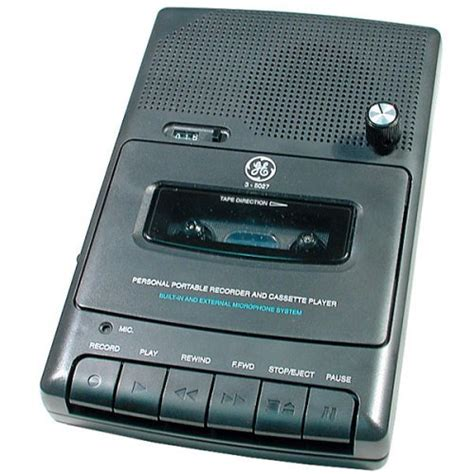 Cassette Players by Logitech Squeezebox Portable Cassette Player