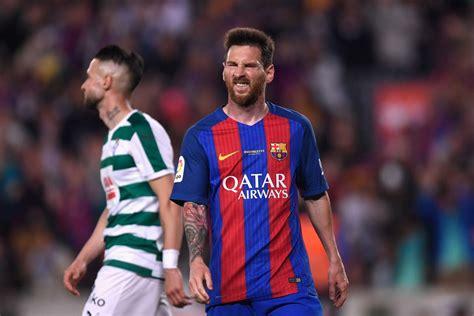 Барселона 4-2 Эйбар ( обзор матча )