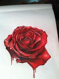 hyper surrealistic rose by gkarts661 on DeviantArt