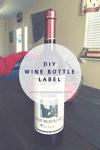 1000 ideas about wine bottle labels on pinterest bottle With diy custom wine labels