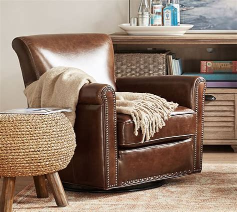 Pottery Barn Irving Swivel Chair by Pottery Barn 25 Sale Save Furniture Home Decor