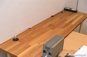 Schreibtisch Selbst Bauen : schreibtisch mit usb ladestation im eigenbau heimwerkerking ~ A.2002-acura-tl-radio.info Haus und Dekorationen