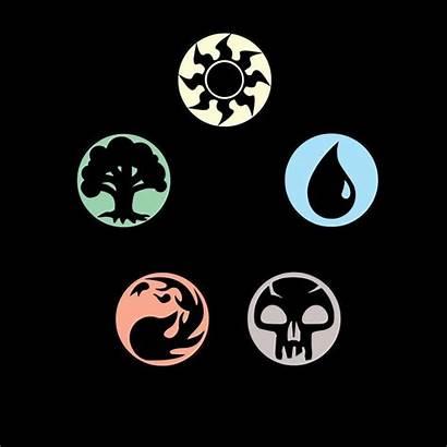 Gathering Magic Symbols Mana Mtg Colors Tattoo