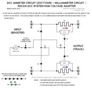 reading measuring dcc ammeter basic circuit circuit diagram seekic