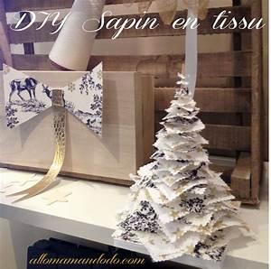 Tissu De Noel : diy sapin de no l en tissu allo maman dodo ~ Preciouscoupons.com Idées de Décoration