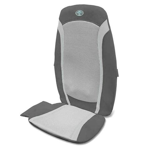 b m homedics gel shiatsu back massager chairs