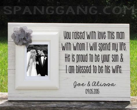 best parent wedding gifts ideas personalised