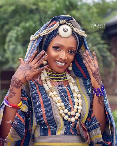 Fulani Africa Bridal Tribes Today Traditional Culture