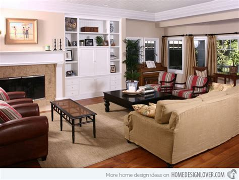 15 Interesting Traditional Living Room Designs  Fox Home
