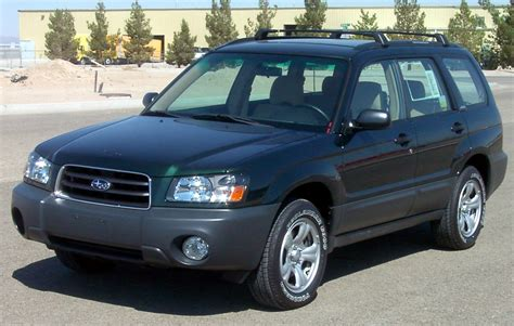 how cars work for dummies 2003 subaru forester parking system 2003 subaru forester information and photos momentcar