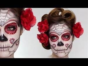 Halloween Schmink Bilder : die besten 25 mexikanische totenmaske ideen auf pinterest mexikanische totenmaske schminken ~ Frokenaadalensverden.com Haus und Dekorationen