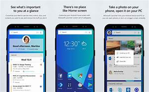 Microsoft's Android launcher gets a new name, a new look ...