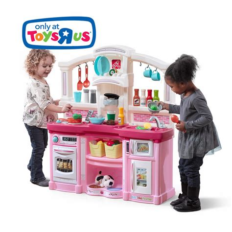 cuisine tikes just like home with kitchen pink step2