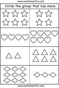 images  preschool worksheets  pinterest