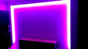 Led Indirektes Licht : led strips 12v rgb mit trafo und fernbedienung indirektes licht 10m rolle youtube ~ Sanjose-hotels-ca.com Haus und Dekorationen