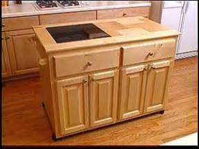 rolling kitchen island a roll away kitchen island hgtv