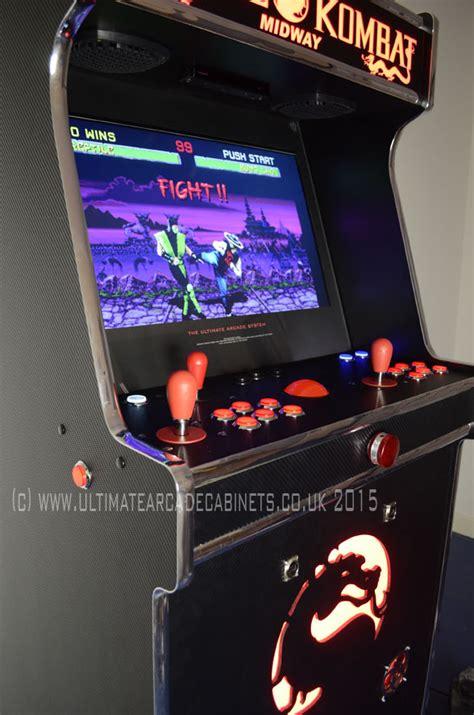 Mortal Kombat Arcade Machine Uk by Custom Battlezone Arcade
