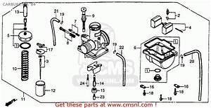 Honda Cr250r Elsinore 1984  E  Usa Carburetor  U0026 39 84