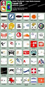 Guess The Brand Logo Mania Level 23 - Game Solver