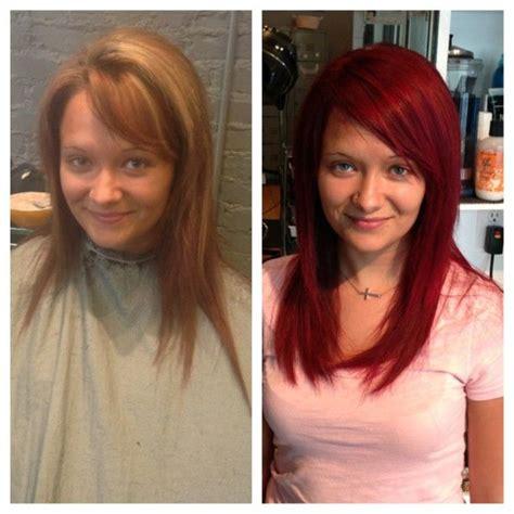 redken chromatics rr  rv  pravana vivids red overlay hair pinterest overlays