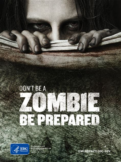 zombie preparedness attacks exist state weekend prepared always there ar been zombies arstechnica denies spreading government they cdc scary humans