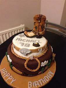cowboy birthday cake tortas de cumpleaños rústicas